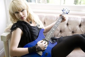 Another great guitarist, Orianthi, who's inspired girls to play guitar songs