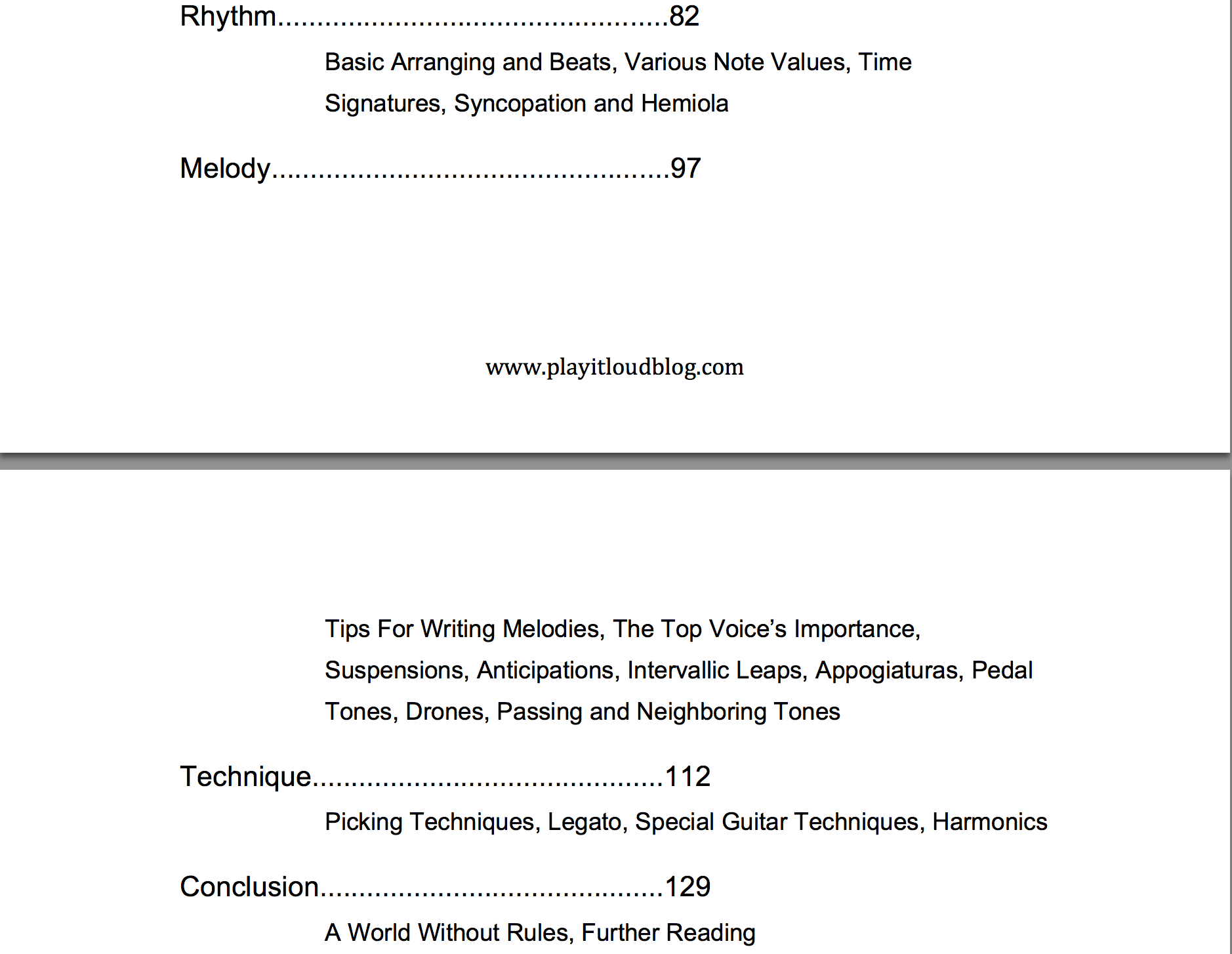 Theory Demystified Contents Page 2 Shopify
