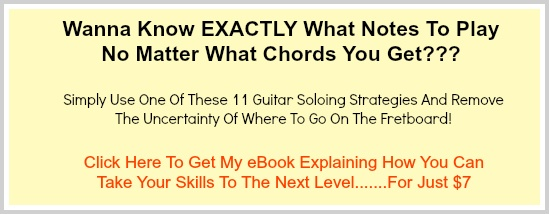 11 Guitar Soloing Methods eBook Native Ad Image #1