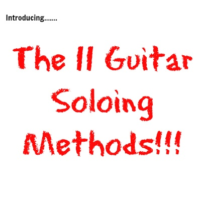 11 Guitar Soloing Methods Image