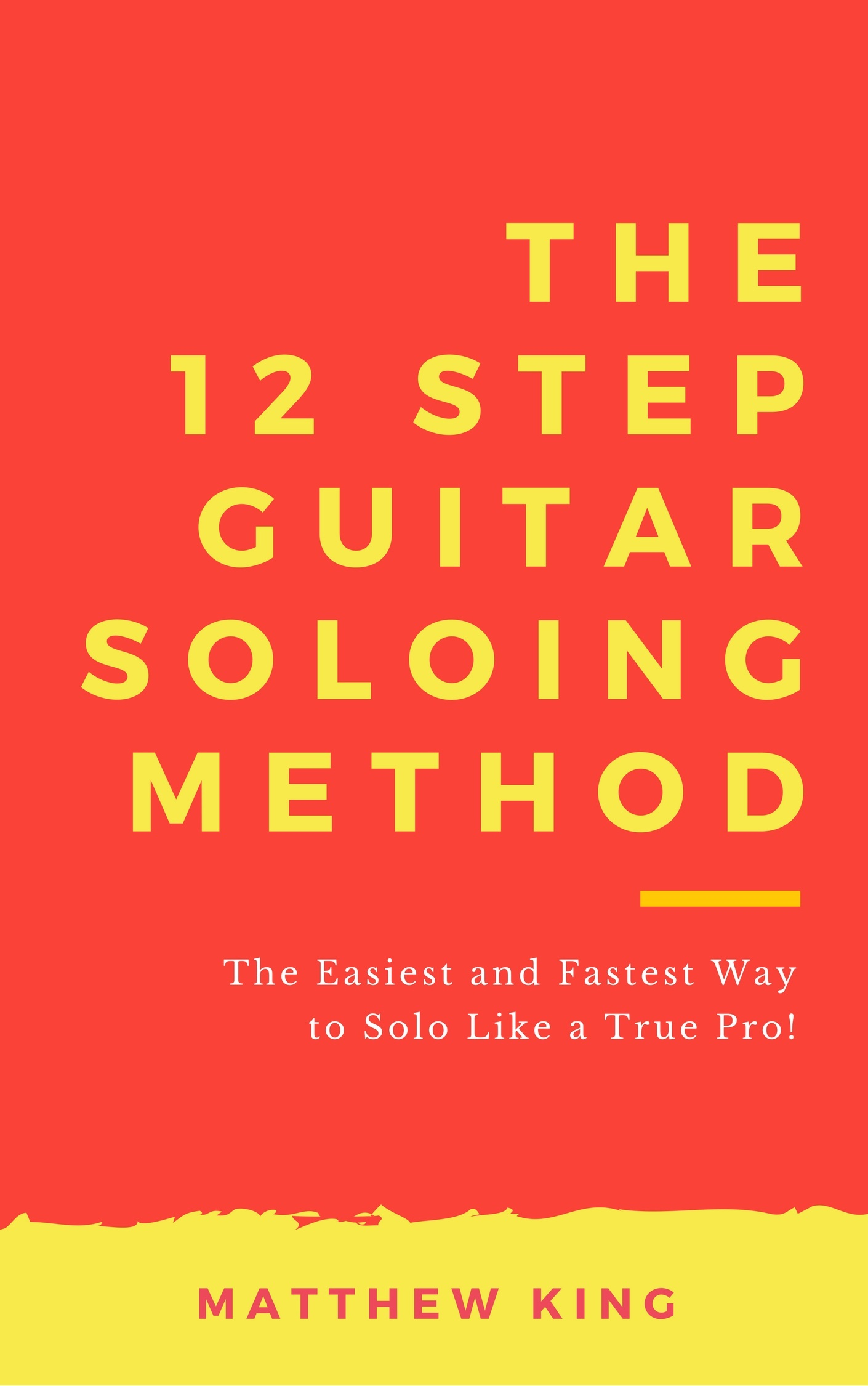 The 12 Step Guitar Soloing Method Kindle Cover 2